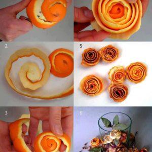 Hvordan lage en appelsinblomst