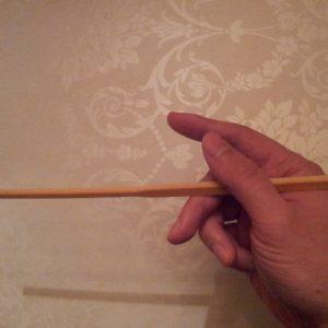 Hvordan bruke spisepinner